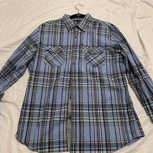 Banana Republic Long Sleeve Casual Shirt, Large
